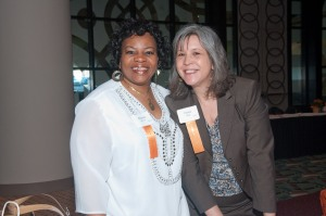 Brenda and me at the YWCA's Circle of Women in 2012